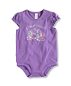 INFANT GIRL'S TRACTOR BODYSHIRT