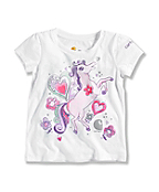INFANT GIRL'S I LOVE HORSES T-SHIRT