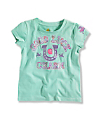 INFANT GIRL'S LUCKY CHARM T-SHIRT