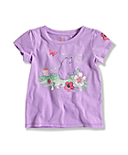 INFANT GIRL'S GARDEN T-SHIRT