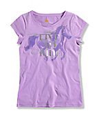 INFANT GIRL'S LIVE 2 RIDE T-SHIRT