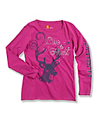 Girls' Live to Hunt Long-Sleeve T-Shirt