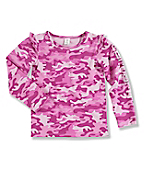 Infant Toddler Girl's Camo Long-Sleeve T-Shirt