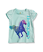 Infant Toddler Girls' Tulip Sleeve T-Shirt