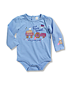 Infant/Toddler Girls' Long Sleeve Bodyshirt