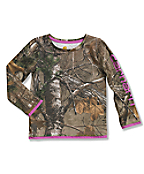 Infant/Toddler Girls' Camo Long Sleeve T-Shirt
