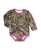 Infant/Toddler Girls' Camo Long Sleeve Bodyshirt
