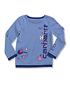 Infant/Toddler Girls' Long Sleeve T-Shirt