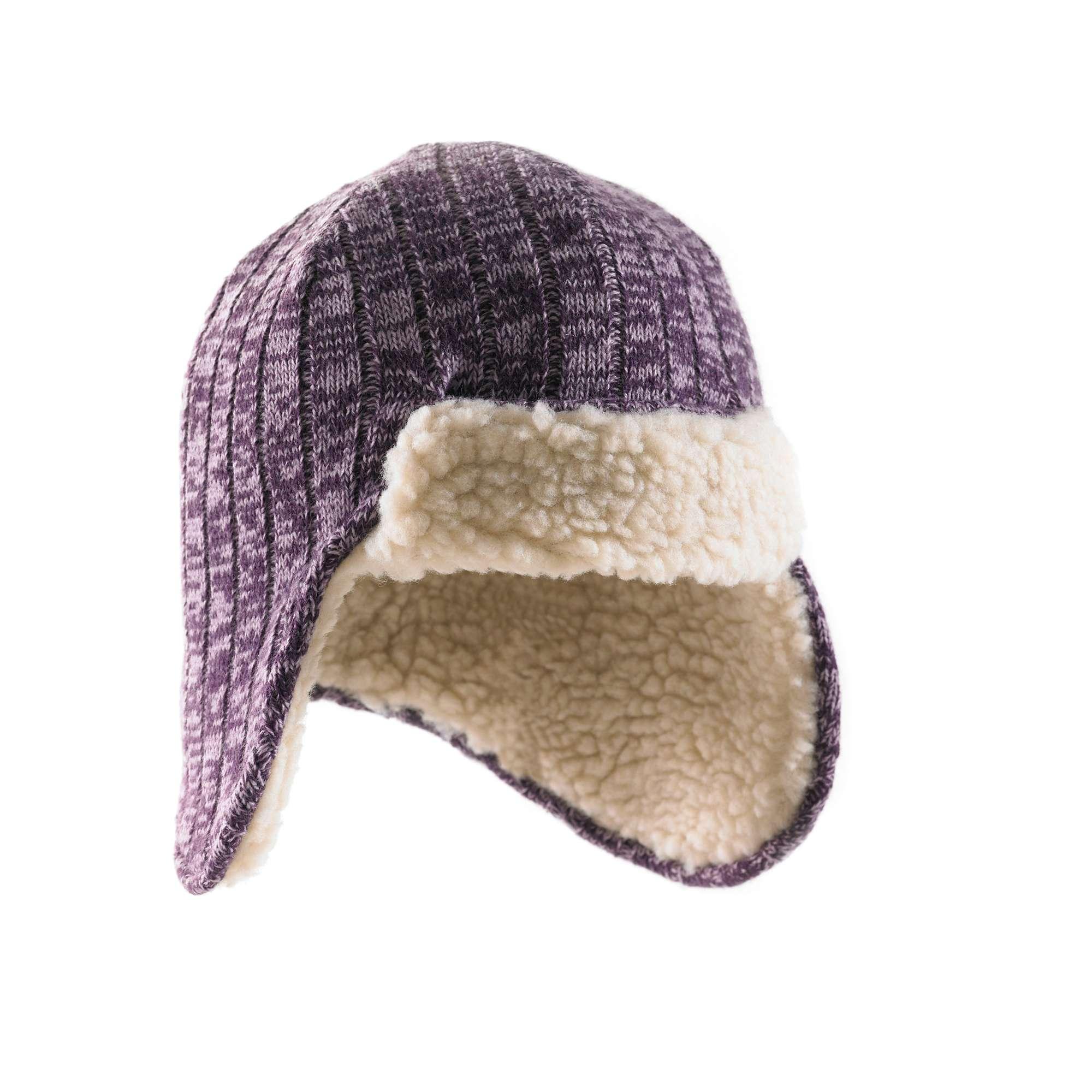 photo: Carhartt Marled-Yarn Ear-Flap Hat/Sherpa Lined winter hat