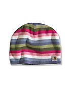 Multi Stripe Hat/Fleece Lined