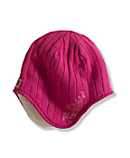 Girls Sherpa Lined Ear Flap Hat