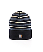 Stripe Acrylic Watch Hat