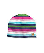 Girl's Multi-Striped Hat