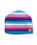 Kids' Multi Stripe Hat/Fleece Lined