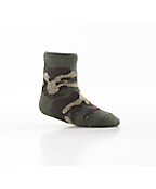 Infant Tiny But Tough Socks - 3 Pairs: Brown, Camo, White