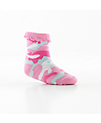 Infant Tiny But Tough Socks - 3 Pairs: Pink, Pink Camo, White