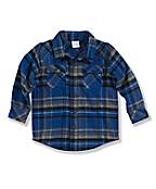 Infant Toddler Boy's Long-sleeve Flannel Shirt