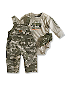 Infant Boy�s 3-Piece Camo Gift Set