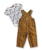 Infant Boy's DOWN ON the FARM OVERALL SET