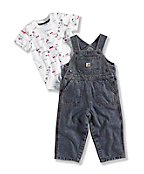 Infant Boy's FIREHOUSE DOG OVERALL SET