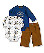 Infant Boy's Carhartt 3-Piece Gift Set