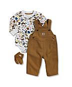 Infant/Toddler Boys' Carhartt 3 Piece Gift Set