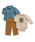 Infant/Toddler Boys' Carhartt 3 Piece Gift Set