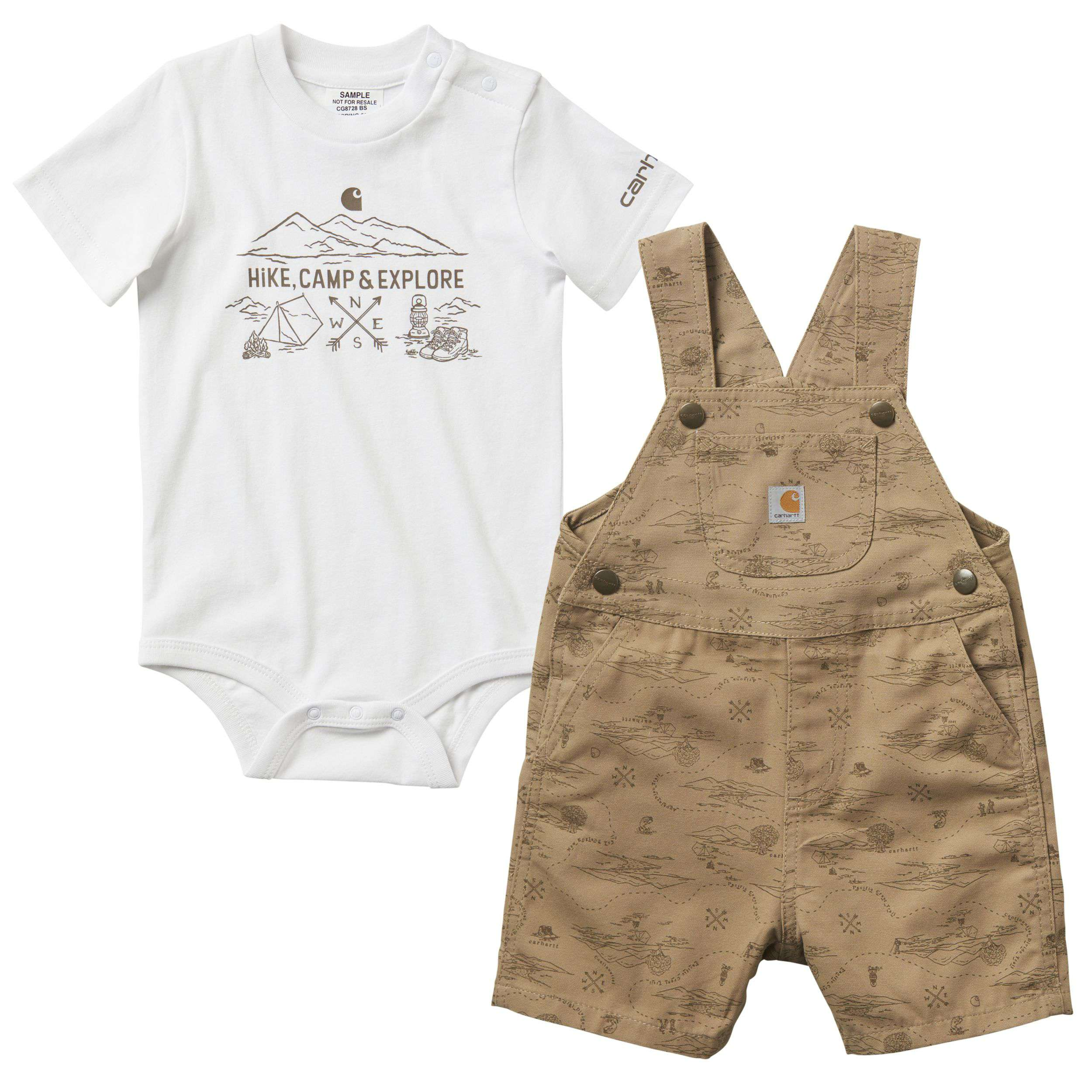 Carhartt Printed Canvas Shortall Set
