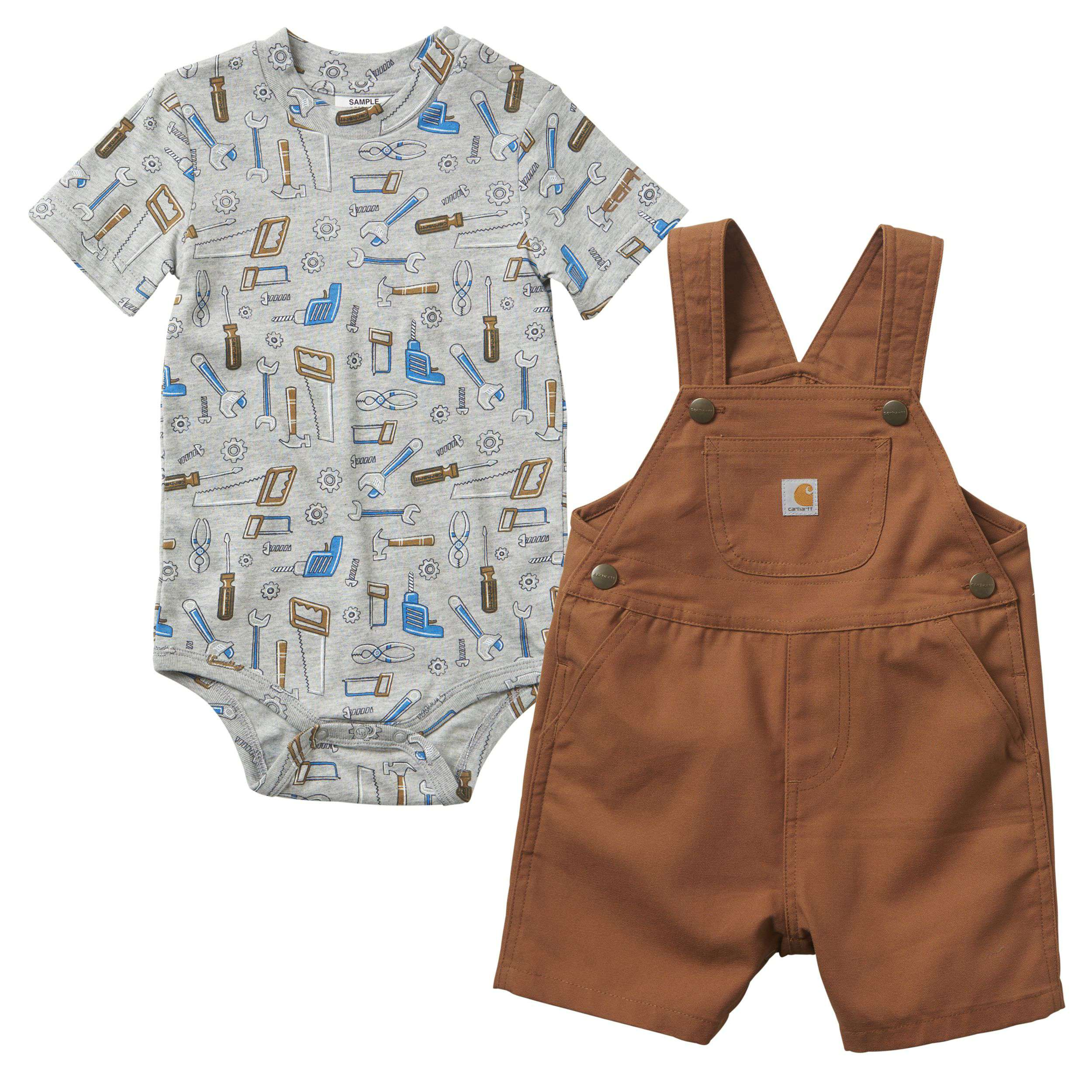 Carhartt Canvas Shortall Set