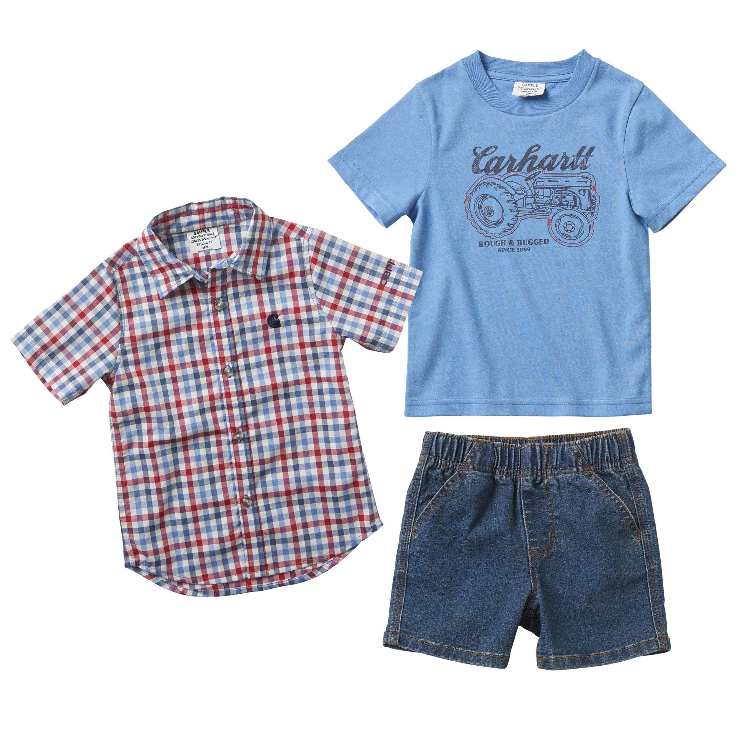 Carhartt 3-Piece Woven Shirt Set