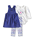 Infant/Toddler Washed Comfy Corduroy 3-Piece Gift Set