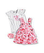 INFANT GIRL'S 3 PIECE JUMPER GIFT SET