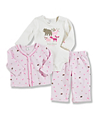 Infant Toddler Girl's Carhartt 3-Piece Gift Set