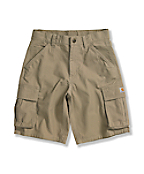 Boys' Washed Ripstop Cargo Short