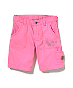 Girls Washed Bermuda Short