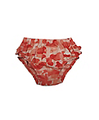 Infant Girls Washed Ripstop Ruffle Diaper Cover