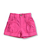 Infant Toddler Girls' Washed Ripstop Short