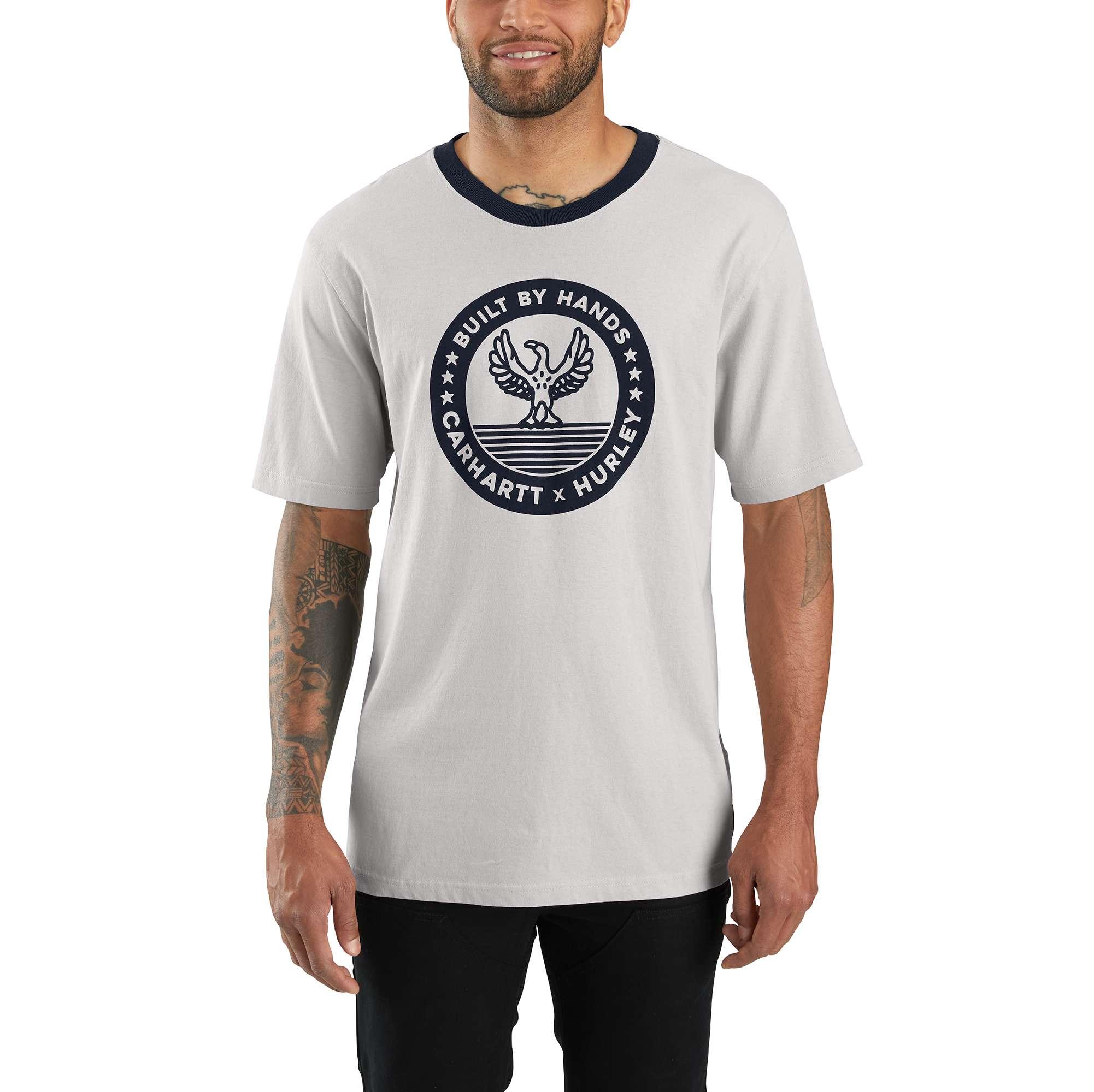 Carhartt Hurley x Carhartt Men's Ringer Short-Sleeve T-shirt