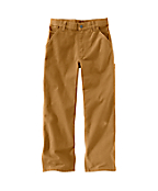 Boys Washed Duck Dungaree Pant