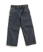 Boys Washed Denim Dungaree