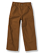 Boys' Washed Duck Dungaree Pant