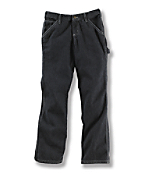 Girls Washed Dungaree Pant