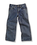 Boys Washed Denim 5-Pocket Pant
