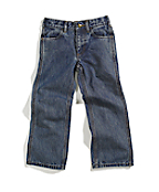 Boys' Washed Denim 5-Pocket Pant