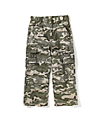 Boy's Washed Cargo Pocket Pant