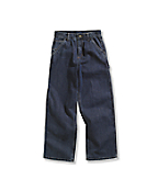 Boy's Washed Denim Dungaree