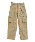Boy's Washed Cargo Pocket Dungaree