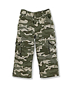 Infant Toddler Boy's Washed Cargo Pocket Pant