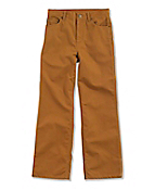 Boy's Washed Canvas Contractor Pant