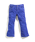 Girls' Washed 5 Pocket Corduroy Pant